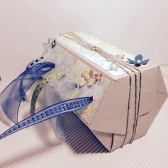 hex ribbon dispenser box